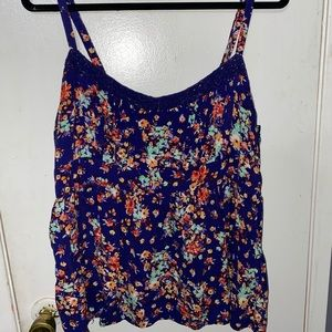 Floral babydoll style top